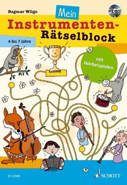 Wilgo Dagmar: Mein Instrumenten Rätselblock