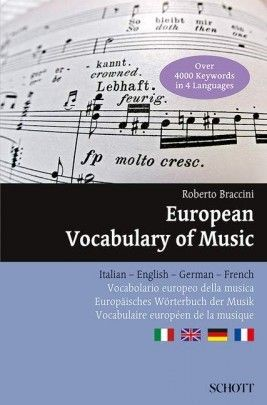 Braccini, Roberto: Dictionary of Musical Terms in Four Languages
