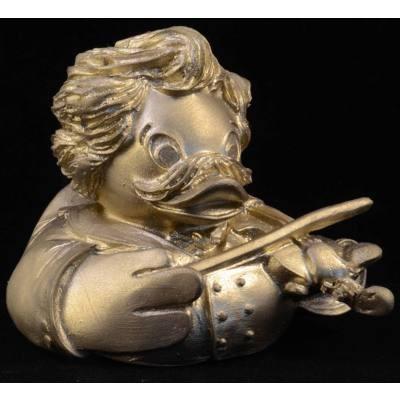 .: Badeente Johann Strauss