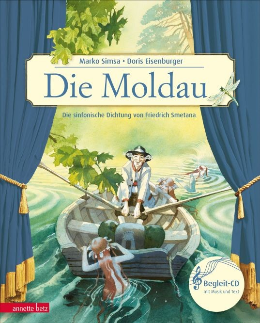 Simsa, Marko: Die Moldau - Bilderbuch mit CD