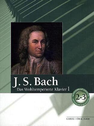 Bach, Johann Sebastian: Das Wohltemperierte Klavier I