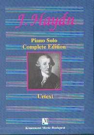 Haydn, Joseph: Klavierwerke in 3 Bänden