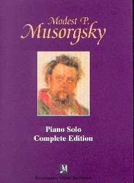 Mussorgsky, Modest: Sämtliche Werke für Klavier