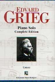 Grieg, Edward: Sämtliche Werke in  3 Bände