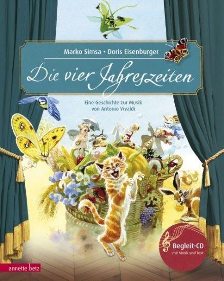 Simsa, Marko & Eisenburger, Doris: Die vier Jahreszeiten, mit Audio-CD
