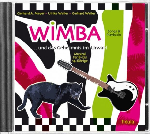 Meyer, Gerhard A.: Wimba - CD (Songs & Playbacks)