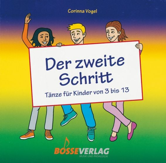 Vogel, Corinna: Der zweite Schritt - CD