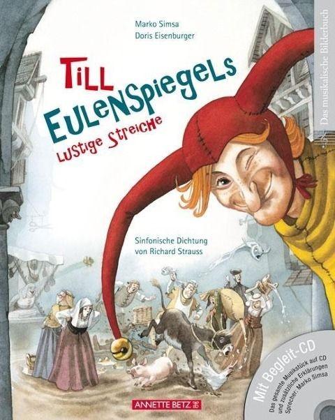 Simsa, Marko: Till Eulenspiegels lustige Streiche mit CD