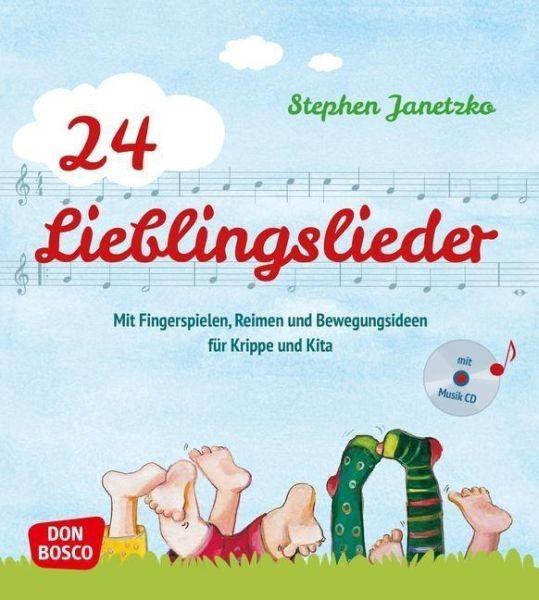 Janetzko, Stephen: 24 Lieblingslieder, mit Audio-CD