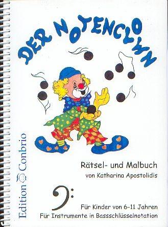 Apostolidis, Katharina: Der Notenclown-Bassschlüssel-Ausgabe