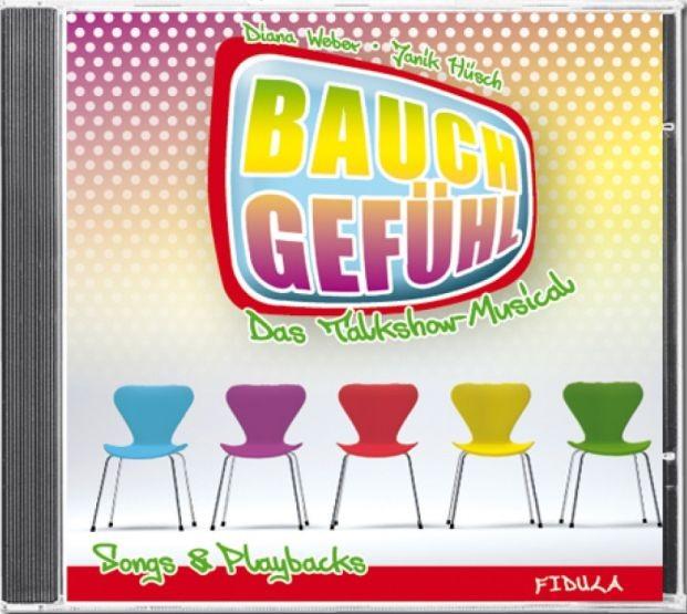 Weber, Diana + Hüsch, Janik: Bauchgefühl - CD