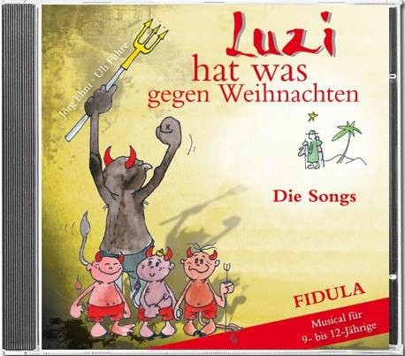 Führe, Uli: Luzi hat was gegen Weihnachten - Song-CD