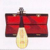 Miniaturinstrument: Laute
