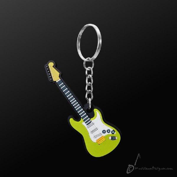 .: Schlüsselanhänger E-Gitarre