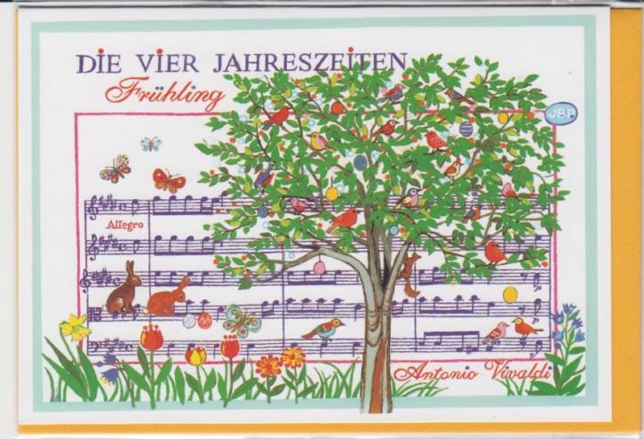 Doppelkarte: Vivaldi - Frühling