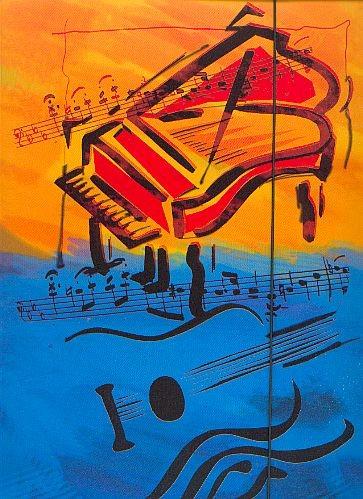 Sammelmappe: Piano und Gitarre