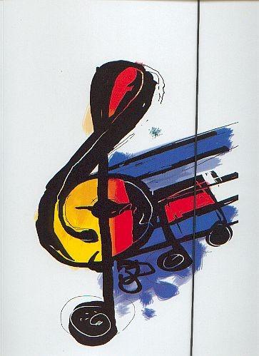 Sammelmappe: Violinschlüssel
