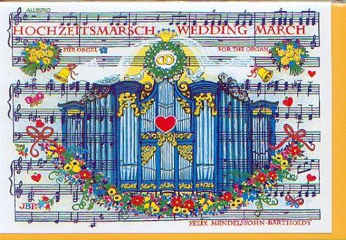 Kunstkarte: Hochzeitsmarsch