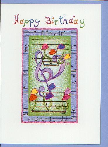 Kunst-Postkarte: Happy Birthday