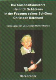 Müller-Blattau, Joseph (H: Die Kompostionslehre Heinrich Schützens