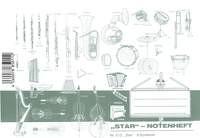Star: Notenheft