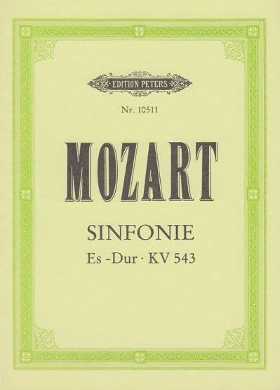 Mozart, Wolfgang Amadeus: Sinfonie Es-Dur KV 543