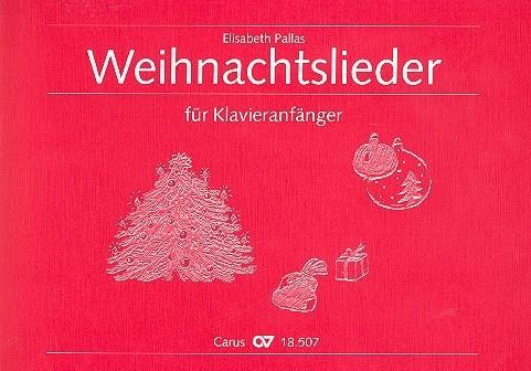 .: Weihnachtslieder für Klavieranfaenger