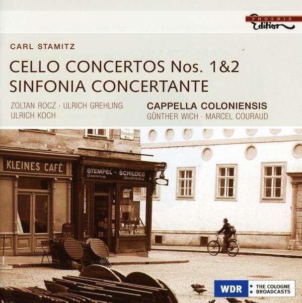 Stamitz, Carl Philipp (1745-1801): Cellokonzerte Nr.1 & 2
