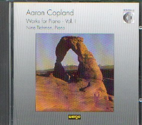 Copland, Aron: Works for Piano Vol I