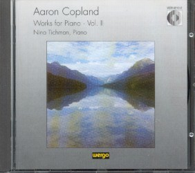 Copland, Aron: Works for Piano Vol II