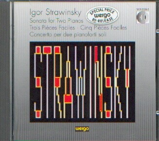 Strawinsky, Igor: Sonata for two Pianos