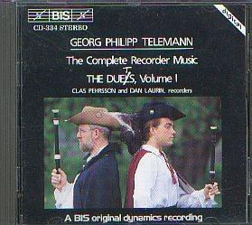 Telemann, Georg Philipp: Sämtliche Blockflöten Duette 1