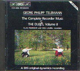 Telemann, Georg Philipp: Sämtliche Blockflöten Duette 2