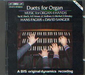 Diverse: Duets for Organ
