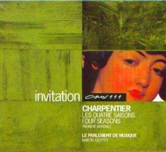 Charpentier, Marc Antoine: Vier Jahreszeiten