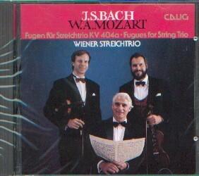 Bach /Mozart: Fugen für Streichtrio KV 404a