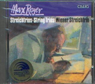 Reger, Max (1873-1916): Streichtrios