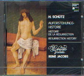 Schütz, Heinrich: Auferstehungs Historie