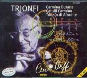 Orff, Carl: Trionfi (3CD)