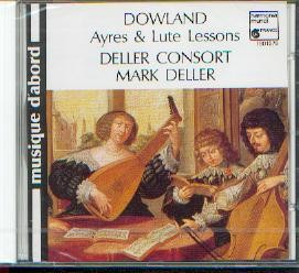 Dowland, John: Ayres & Lute-Lessons
