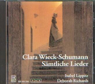 Wieck-Schumann, Clara: Sämtliche Lieder