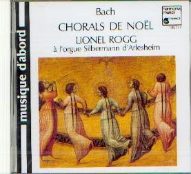 Bach, Johann Sebastian: Choräle zur Weihnachtszeit