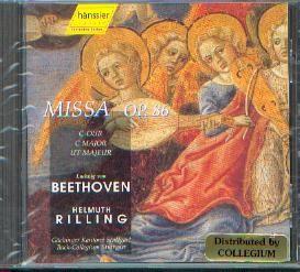 Beethoven, Ludwig van: Missa op. 86
