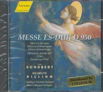 Schubert, Franz (1797-1828): Messe Es-Dur D 950