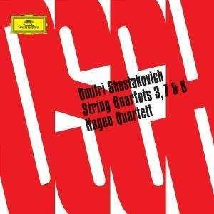 Schostakowitsch, Dmitrij: Streichquartette 3,7,8
