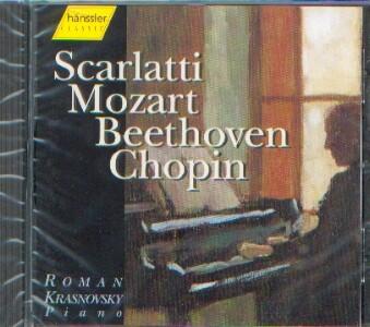 Scarlatti/ Mozart/ Beethoven/ Chopin: Klavierwerke