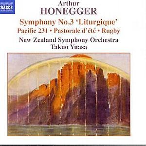 Honegger, Arthur (1892-1955): Sympohony No.3 - Pacific 231 - Rugby