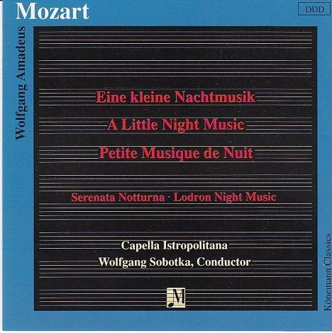 Mozart, Wolfgang Amadeus: Kleine Nachtmusik