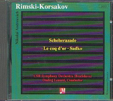 Rimsky-Korsakov, Nicolai: Scheherazade