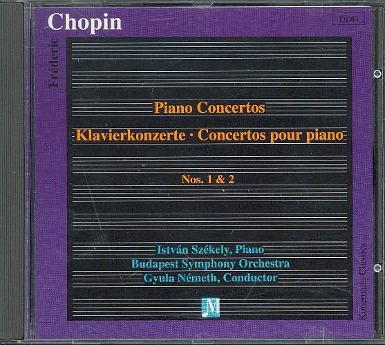 Chopin, Frederic: Klavierkonzert No. 1 & No.2